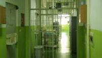 Interior of the Zenica prison in Bosnia