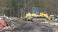 Destruction of ZAD Bure