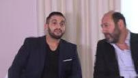 "Interview Kad Merad and malik bentalha ""The Blankie"""