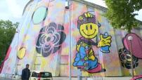 Festival Street Art Speedy Graphito peint la plus grande fresque d'Europe