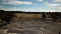 Vue aérienne par drone de la campagne de Chihuahua, Mexique