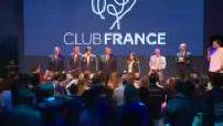 Jo de Rio 2016: Club France présentation des médaillés du jour.