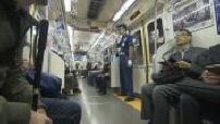 Illustration subway in Tokyo