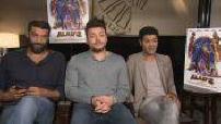 Movie release Alad'2: Bedia interviews, Adams, Debbouze