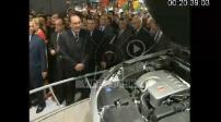 Inauguration of global automotive at Porte de Versailles