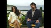 """Festival de Cannes 1995 : Itw Robert Rodriguez et Salma Hayek pour """"Desperado"""" (2)"""