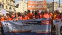 Immigration: mobilization for Aquarius in Marseille