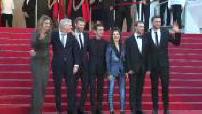 """Festival de Cannes : montée des marches du casting du film """"120 battements par minute"""""""