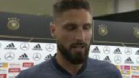 Allemagne - France : Interview des joueurs français après le match