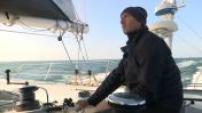 Fabrice Payen, disabled skipper preparing for the Route du Rhum