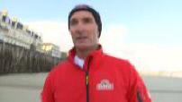 Physical training skipper Beyou before the Route du Rhum