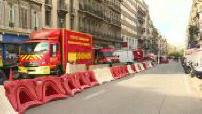 Effondrement d'immeubles : déblaiement et témoignage commandant