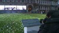 Paris pays homage to the dead Parisians in battle during World War 1 partie 2
