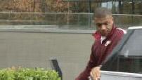 football :arrivées des joueurs de l'équipe de France à Clairefontaine