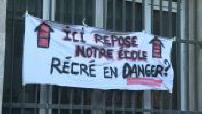 Marseille : une école ferme sa cour de récréation par précaution