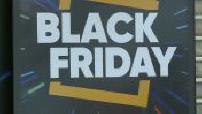 Black friday : Illustration centre commercial