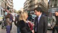 Immeubles effondrés : Julien Denormandie à Marseille