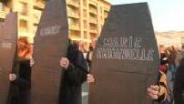 Marseille : manifestation après le report d'un conseil municipal