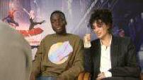 """Cinéma : """"Spider man new generation"""" : interviews"""