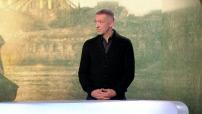"""Vincent Cassel, invité plateau du 19H45 pour la promotion du film """"L'empereur de Paris"""""""