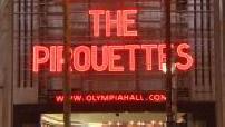 """Concert et répétion de """"The Pirouettes"""" à l'Olympia"""