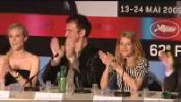 """Festival de Cannes 2009 : Conférence de presse du film """"Inglourious Basterds"""""""