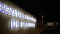 Extérieur nuit centre hospitalier de Perpignan