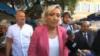 Marine Le Pen à Fréjus pour lancer sa campagne pour les élections européennes