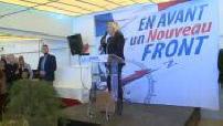 Marine Le Pen en déplacement à Carpentras, dans le Vaucluse