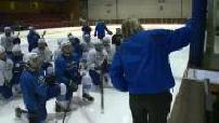 Le hockey féminin portrait de deux attaquantes de l'équipe de France