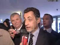 Agricultural Fair Sarkozy visits and Holland
