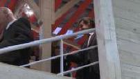 Agricultural Show 2015: Nicolas Sarkozy Henri Guaino and ITW and Fillon