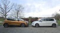 Match Renault Scenic IV Volkswagen Golf VII Sportsvan