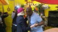 Visite de Marine Le Pen au Salon de l'Agriculture avec Jordan Bardella partie 2
