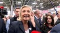 Visite de Marine Le Pen au Salon de l'Agriculture avec Jordan Bardella partie 3