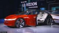 Geneva Motor Show: Volkswagen Vizzion I.D.