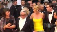 """68ème Festival de Cannes : montée des marches de l'équipe du film """"Mad Max : fury road"""""""
