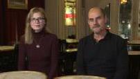 "Interviews Bernard Campan and Isabelle Carré ""Tasting"""