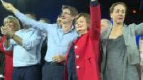 European elections: Nathalie Loiseau LREM launches campaign in Aubervilliers