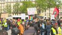 Gilets jaunes : Acte 24 à Paris Montparnasse en présence de la CGT