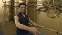 Portrait Hugo Marchand et préparation avant son ballet