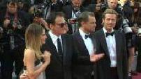 """72e Festival de Cannes: montée des marches de l'équipe de """"One upon a time Hollywood"""""""