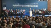 Européennes : dernier meeting Rassemblement national