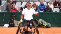 """La journée """"Tous en fauteuil"""" à Roland-Garros avec Stéphane Houdet"""