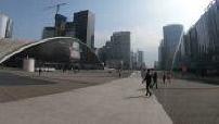 GoPro: le quartier de La Défense en trottinette