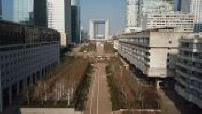 Aerial views by La Défense drone