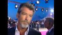 Festival de Deauville 2005: Pierce Brosnan sur tapis rouge