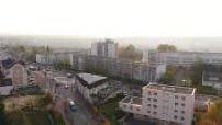 Vue aérienne de Corbeil Essonnes (jour & nuit)