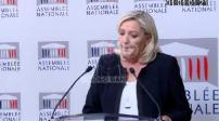 Conférence de presse de Marine Le Pen sur l'immigration