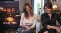 """Cinéma : interviews for """"La Belle époque"""""""